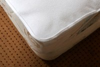 Waterproof PVC/Vinyl Coated Terry Mattress Protectors (Incontinence Medical Bed Pads)