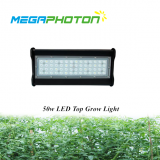 Megaphoton 50w 1ft Top LED grow light for hydroponic horticultural lighting projects
