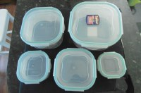 DESTOCKING OF HERMETIC FOOD PLASTIC BOXES free BPA