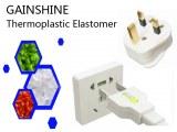 Inflaming retarding Thermoplastic Elastomer for Plug