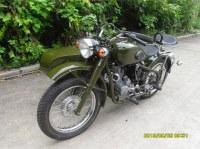Changjiang 250CC motorcycle sidecar