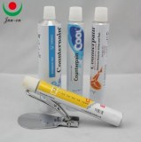 Collapsible aluminum pharmaceutical tube packaging