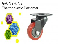 Wearable Thermoplastic Rubber for Medical Casters