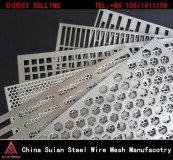 Punched Metal Sheet Punching Hole Wire Mesh