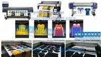 Dye sublimation printed laser cutting by Unikonex