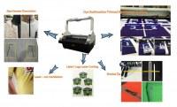 Vision laser cutting in Sports Industry/Unikonex