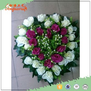 4038cm real touch silk cloth artificial flower wall wedding backdrop decoration