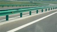 Thrie Beam Highway Guardrail