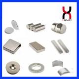 Permanent Sintered Rare Earth Neodymium Magnetic Material Strong Disc/Block/Cylinder/Co...