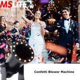 DMX 512 LED Electric Confetti Clower Color Paper Cannon Confetti Blower Machine