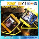 Thrilling flight simulator for sale 4D 5D theater simulator system