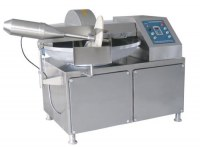 Full automatic meat cutter/20-200L meat cutmixer/chicken meat bowl cutting machine for...