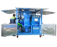 Double Stage High Vacuum Transformer Oil Filtration Machine 9000 Liters per Hour