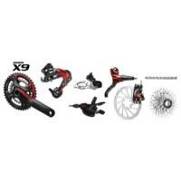 Sram X9 2 X 10 Mountain Bike Groupset