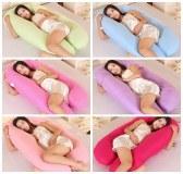 Pregnancy pillow U shape Maternity pillows pregnancy Comfortable Body Women pregnant Si...