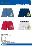 BOXER GARCONS SIMPSONS
