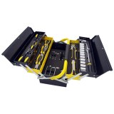 Manssberger 808.605: Ensemble d'outils de 58 pièces avec boîte à outils à cinq comparti...