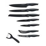 Royalty Line RL-CB7; Set de couteaux avec revêtement non-adhésif 7pcs