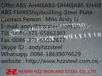 Offer:ABS-AH40|ABS-DH40|ABS-EH40|ABS-FH40|Shipbuilding-Steel-Plate
