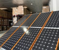 Electrical Material DC / AC and solar energy