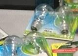 Lot d'ampoules halogènes
