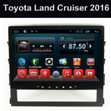 Wholesale OEM Android Dvd Player for Car Toyota Land Cruiser 2016 Big Screen