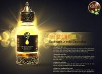 Huile d'argan 100% certifiée bio dans une bouteille en verre avec compte-gouttes :