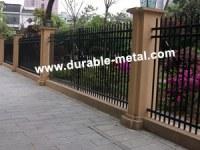 Welded Ornamental Iron Fence