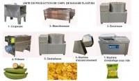 CREEZ UNE UNITE DE PRODUCTION DE BANANE PLANTAIN SEMI-AUTOMATIQUE
