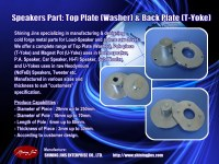 Speaker parts: Top Plate and Back Plate made in Taiwan