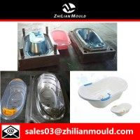 Plastic injection baby bathtub mould with high quality