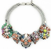 Alloy necklace, metal necklaces jewelry