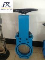 Bi-directional knife gate valve