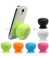 Silicone Sucker Waterproof Bluetooth Speaker