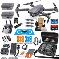 DJI Mavic Pro Drone Quadcopter Elite Combo with 3 Batteries