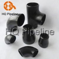 Butt welding pipe fitting