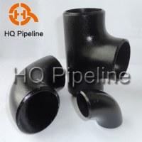 Butt welded pipe fittings