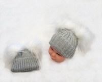 Baby Pom-Pom Hats Wholesale