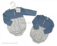Knitted Spanish Style Baby Romper