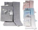 Baby Jacquard Wrap - Squares