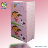 Plastic Drawers Bite Cabinet for Children Vietnam QP-1867