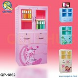 Plastic Cabinet for Children with Lock Vietnam QP-1867