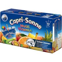 CAPRI-SONNE Multi-vitamines (Pack de 10) x 4