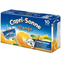 CAPRI-SONNE Orange (Pack de 10) x 4