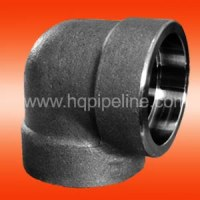 Forged steel pipe fittings - elbow