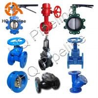 Casting iron valves
