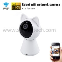 Cat pet camera wifi home security camera system wireless