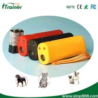 Outdoor ultrasonic with Alarm, flashlight dog repeller CD-100