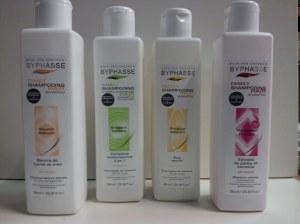 Packs shampoos Byphasse liquidation Barcelona.