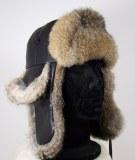 Hat fur hat and leather Lamb Fur Rabbit